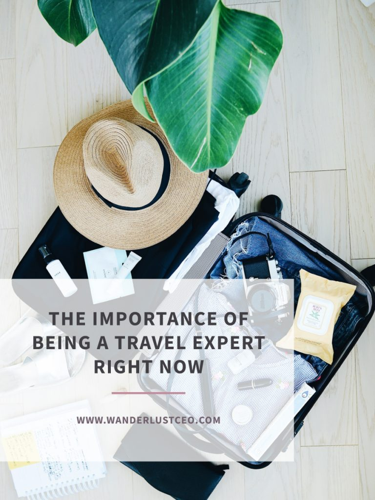 The Importance of Being a Travel Agent Right Now
