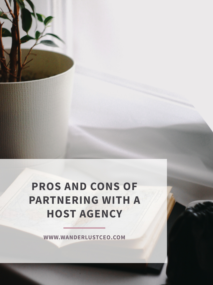 Pros and Cons of Partnering with a Host Agency