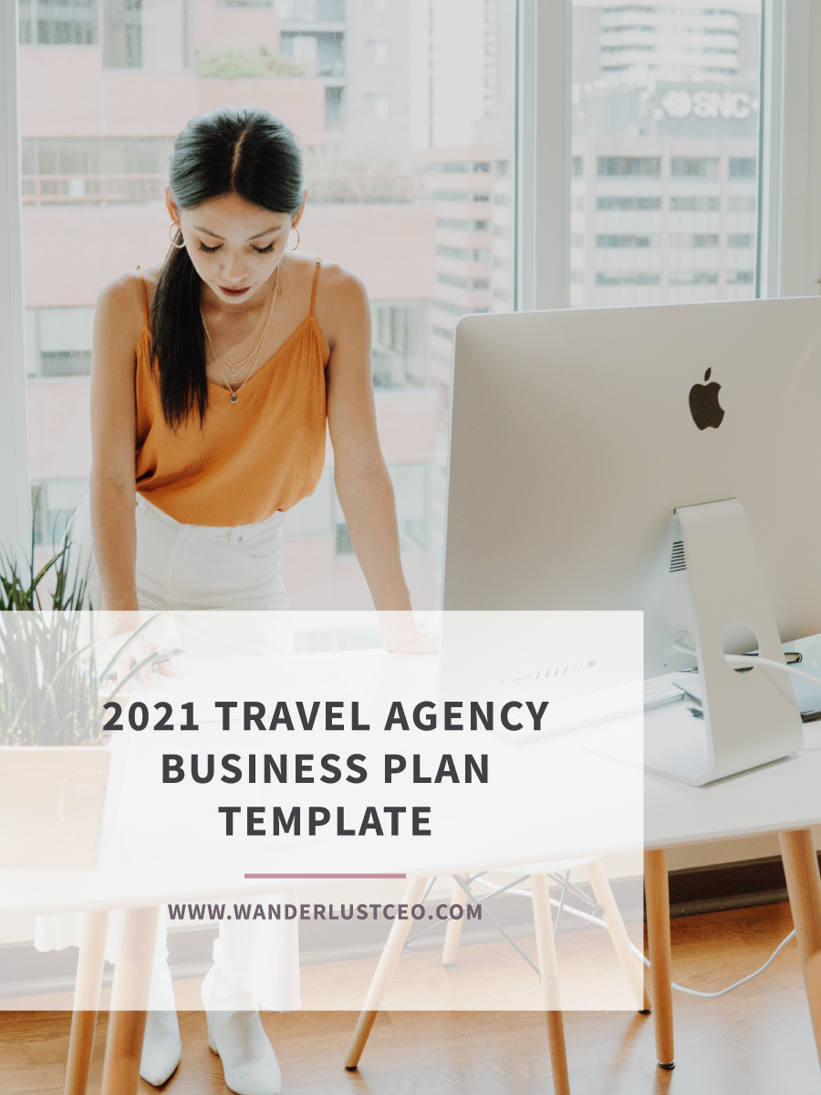 2021 Travel Agency Business Plan Template