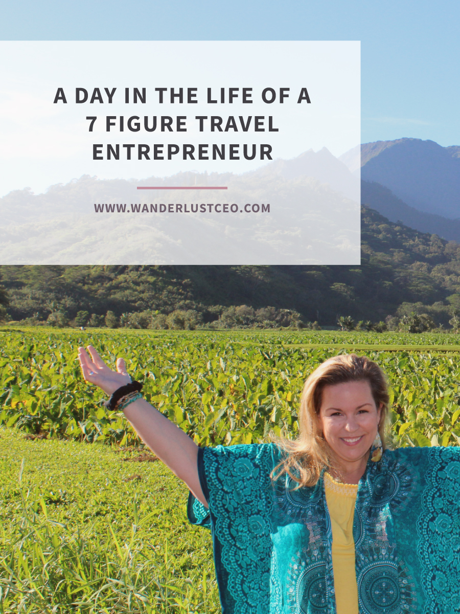 A Day in the Life of a Travel Entrepreneur